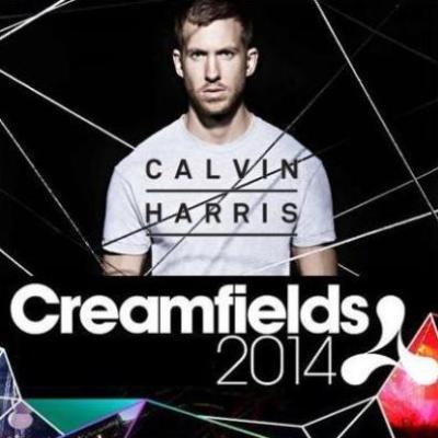 Calvin Harris Live at Creamfields 2014, UK